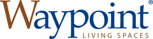 Logo for Waypoint Living Spaces cabinets